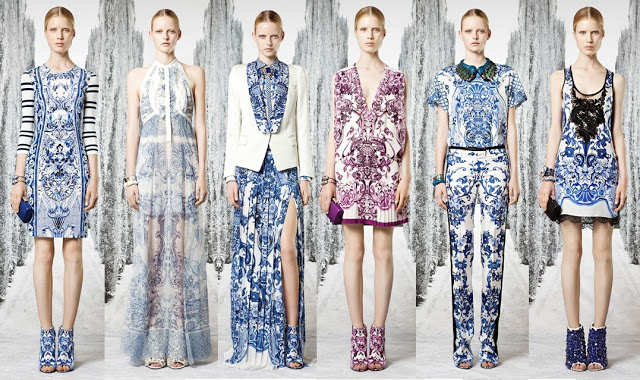 porcelain print Cavalli Resort  2013