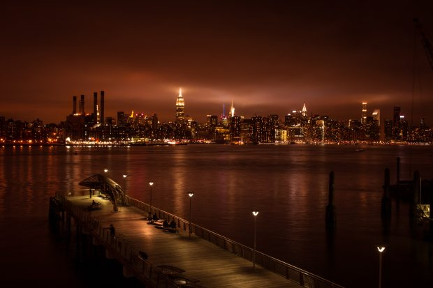 Vista de Manhattan a partir de Williamsburg - NYC - Giuli Castro