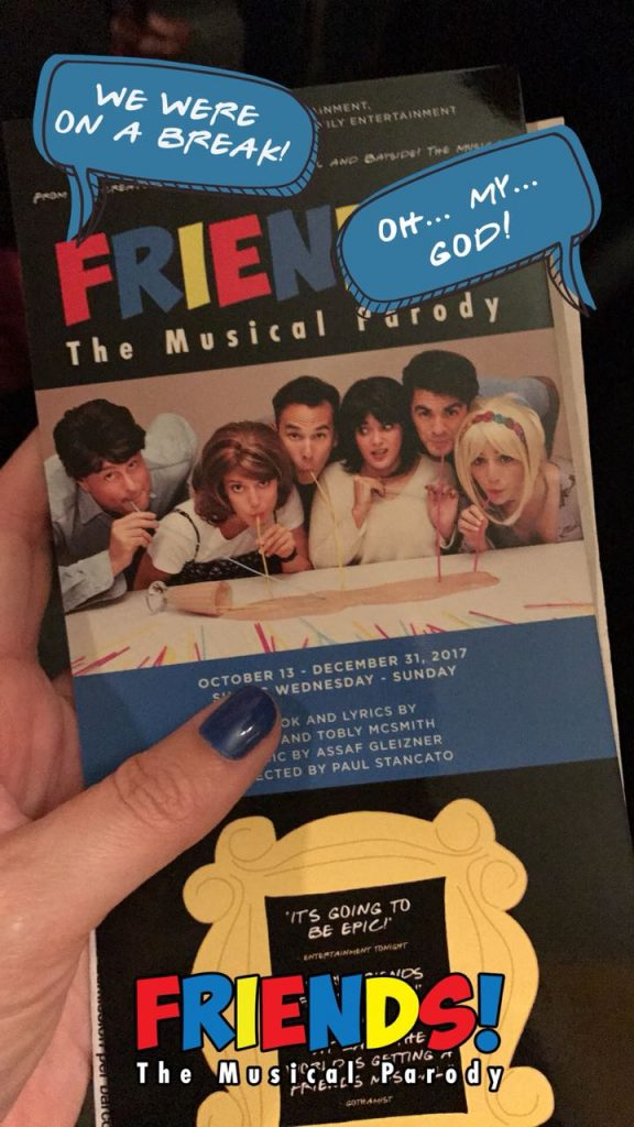 Friends - Off Broadway - NYC - Giuli Castro