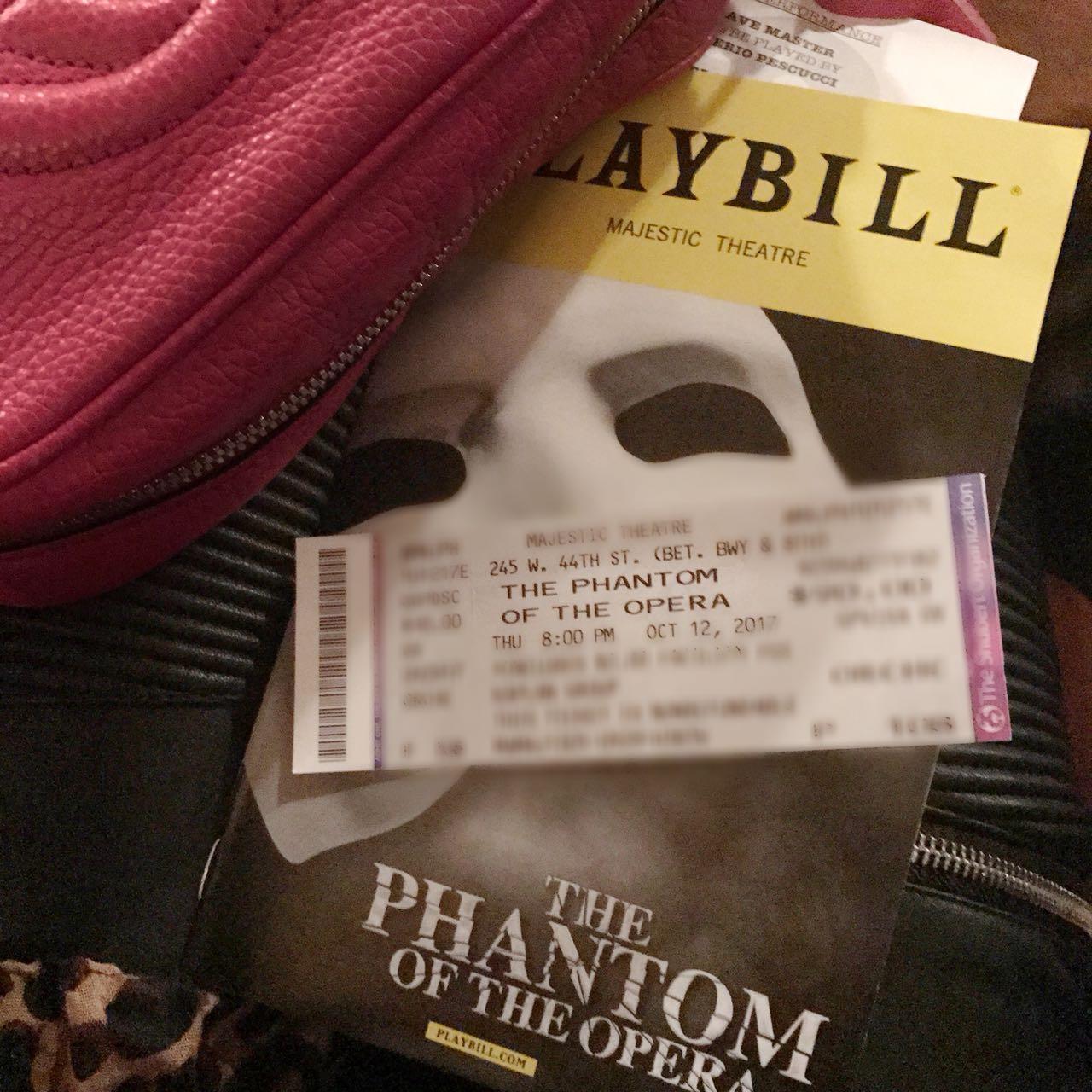 Fantasma da Opera - Broadway - NYC - Giuli Castro