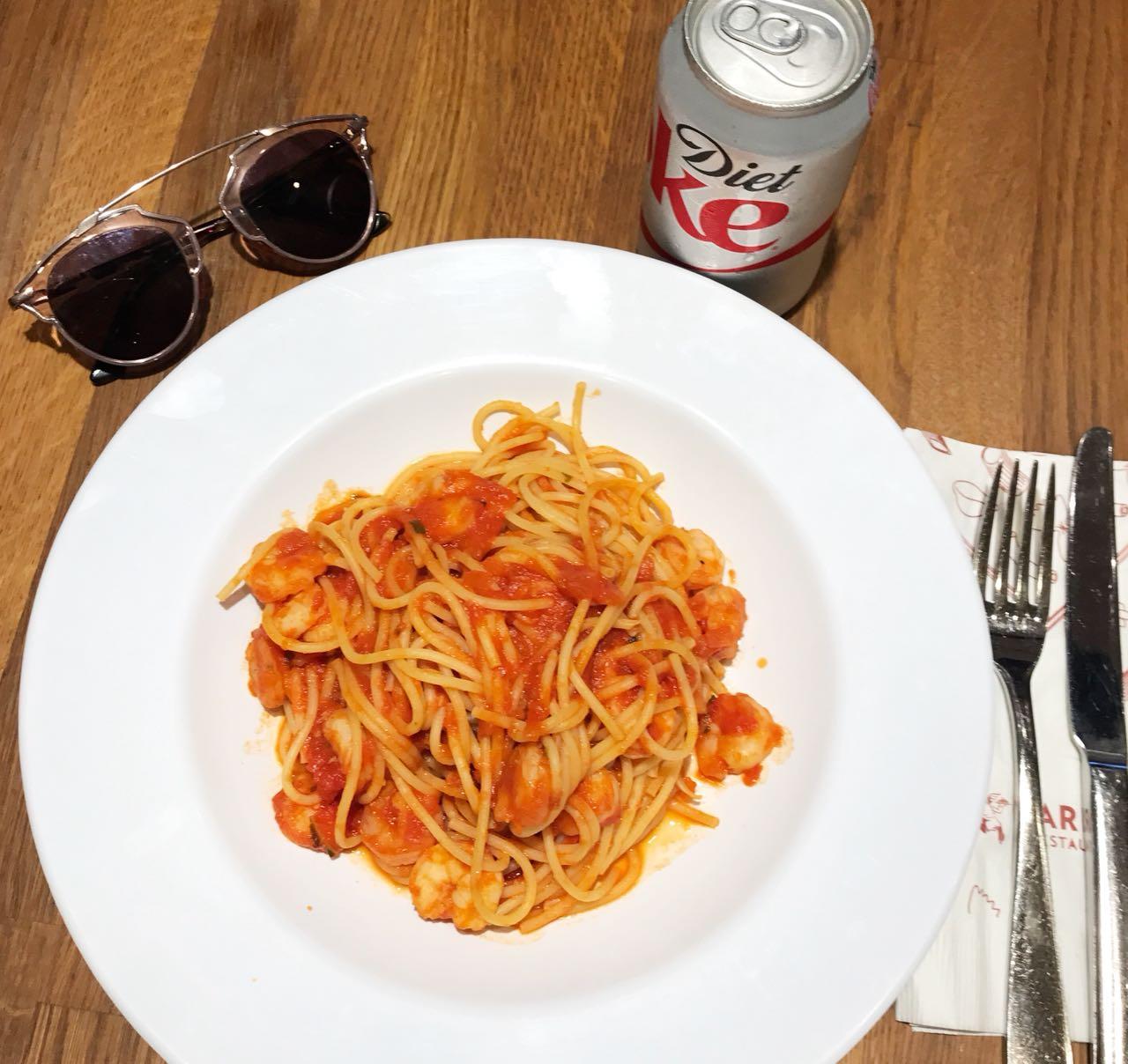 Restaurante Barilla em NY - Giuli Castro