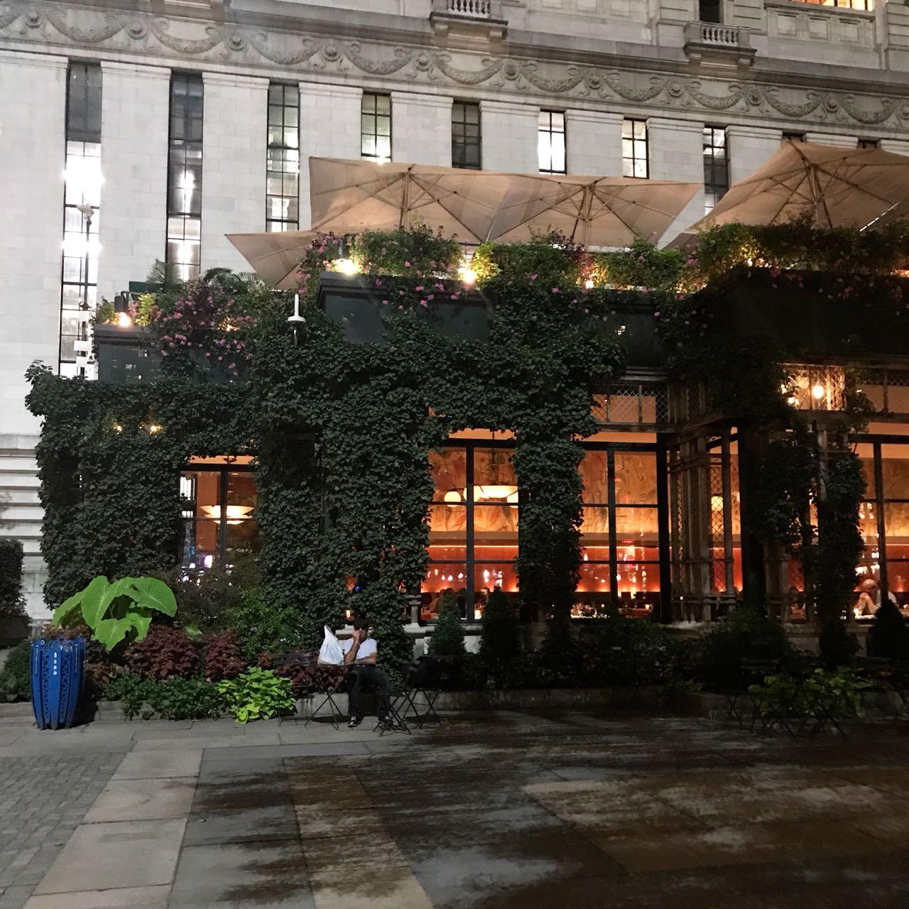 Restaurante Bryant Park Grill em NYC - Giuli Castro