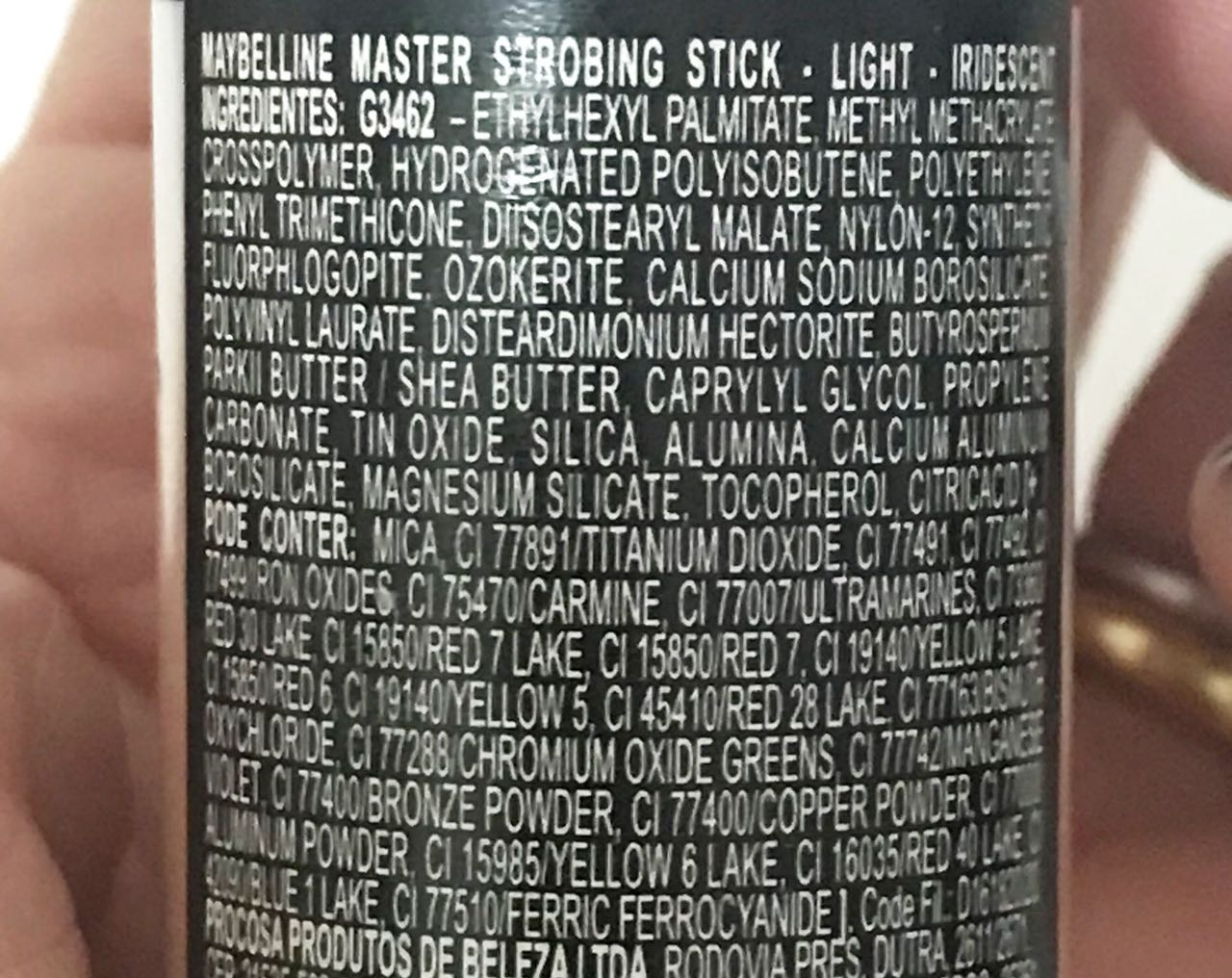 Resenha do iluminador Master Strobing Stick da Maybelline