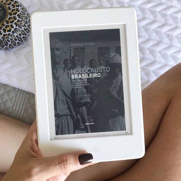livro holocausto brasileiro de Daniela Arbex por Giuli Castro