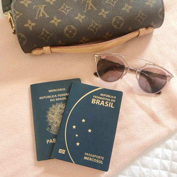 Planejar viagem para Disney - passaportes e visto