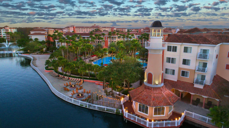 Planejar viagem para Disney - Marriott Grande Vista Hotel