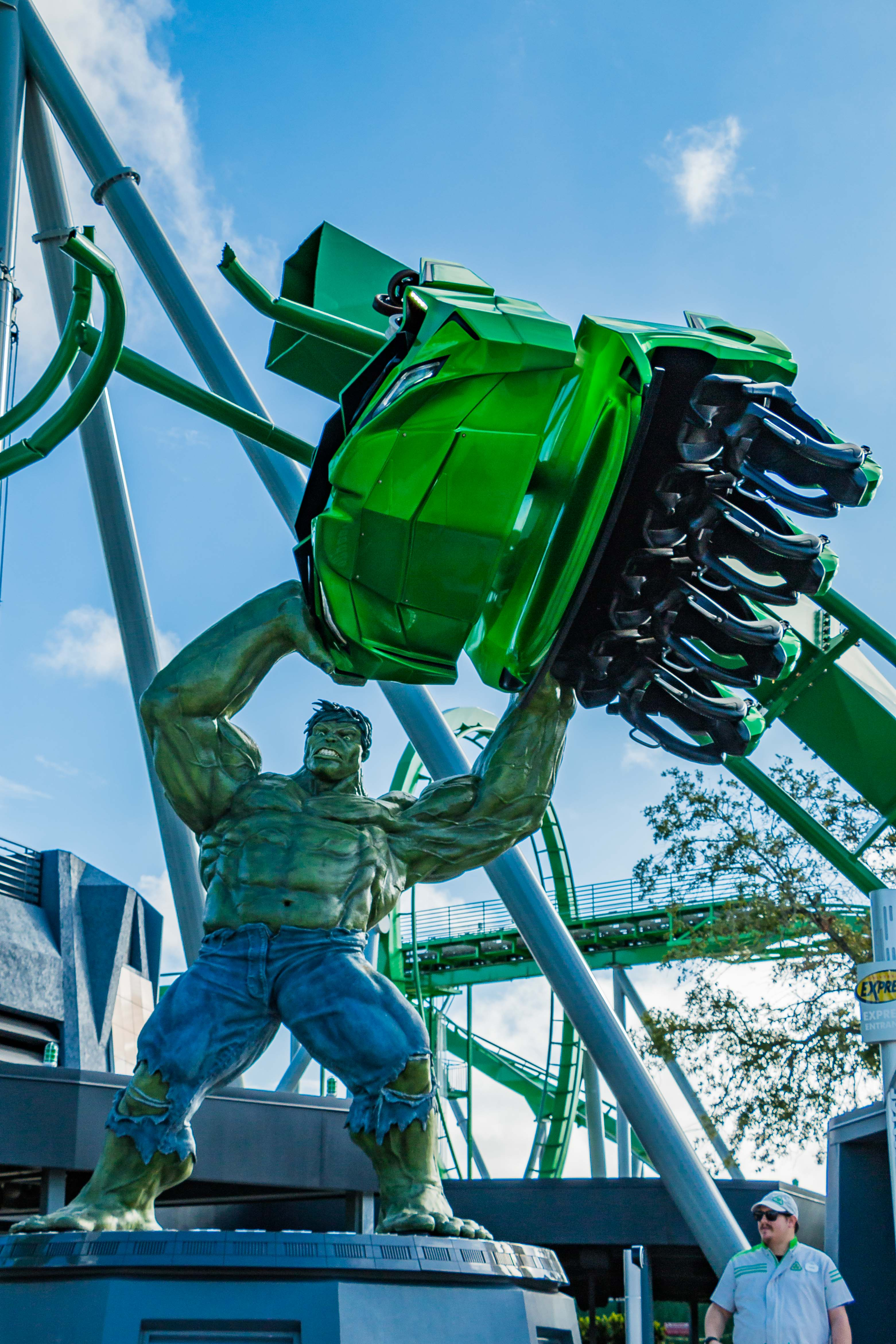 Montanha Russa do Hulk no Island of Adventures