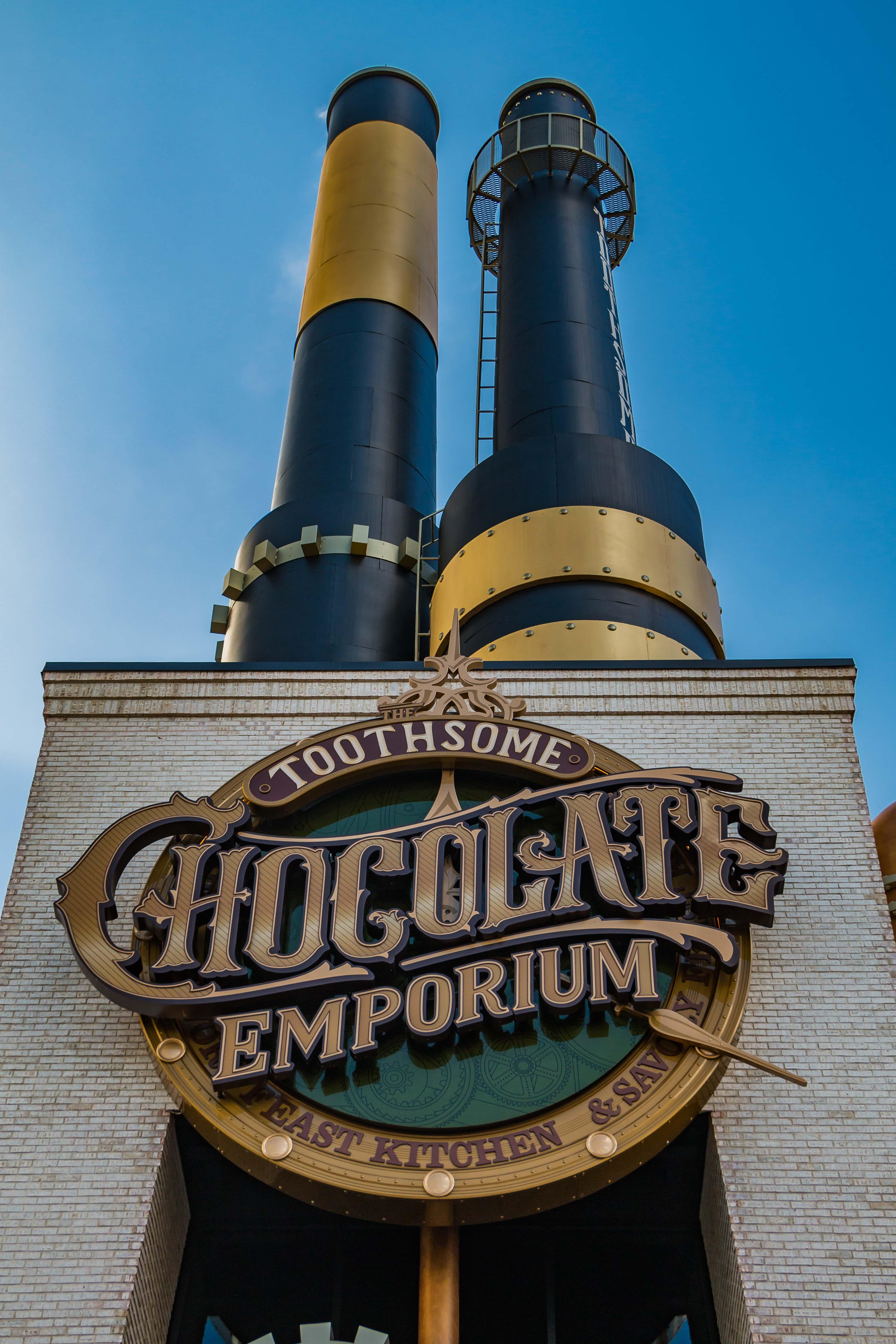 Toothsome Chocolate Emporium Universal Studios em Orlando nos EUA por Giuli Castro
