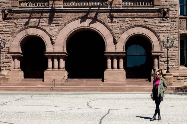 Look Giuli Castro em Toronto Dia 4