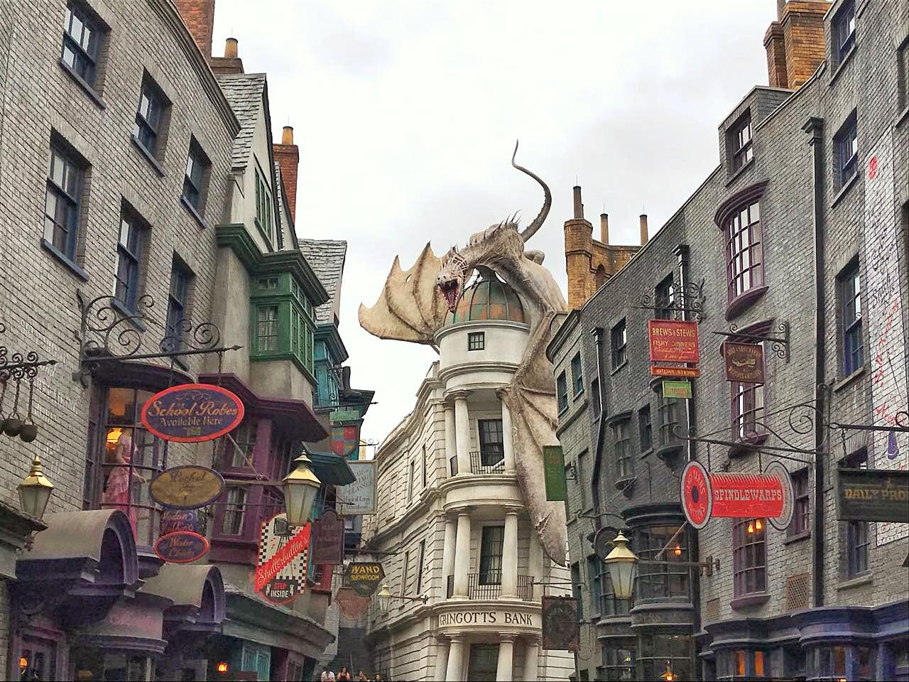 Harry Potter Universal Studios em Orlando nos EUA por Giuli Castro