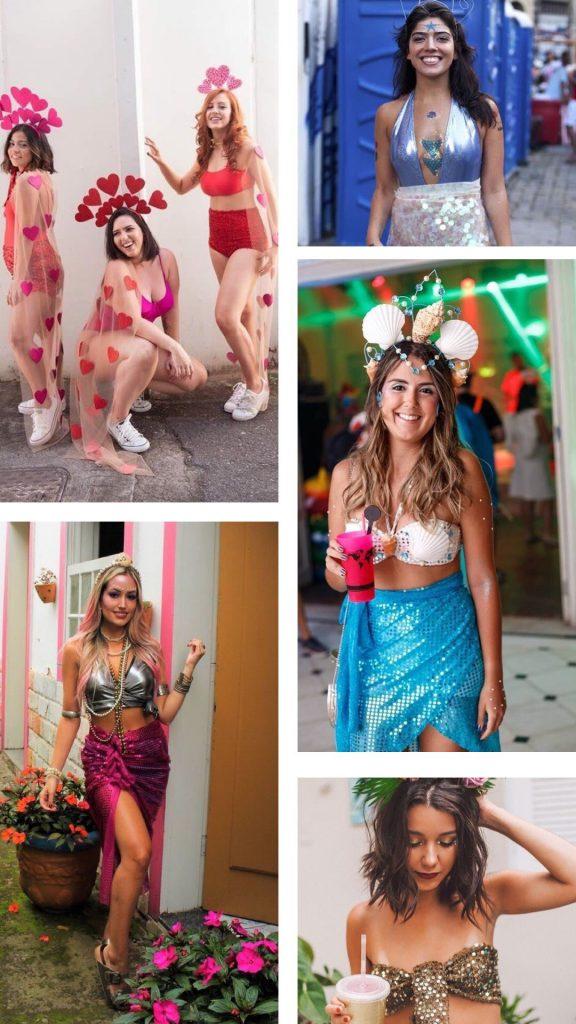20 inspirações de look para o Carnaval por Giuli Castro